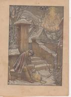 LE PELERIN 24 Decembre 1933  La Famille à La Crèche - 1900 - 1949