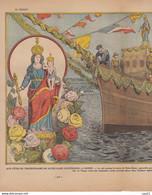 LE PELERIN 1 Mai 1932 1er Régiment De Chasseurs Et Le Sultan. Au Temps Du Cartel, N.D. D'espérance à Cannes - 1900 - 1949