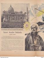 LE PELERIN 22 Mai 1938   Semaine Des Rogations , Trains Des Decrets Lois Et Planche Patapouf, St André Bobola... - 1900 - 1949
