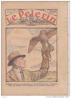 LE PELERIN 3 Mars 1935  Chasse Au Faucon, Au Zugspitze En Allemagne L'eau,Jeanne L'ouvrière (chanson). Par Ci Par La ... - 1900 - 1949