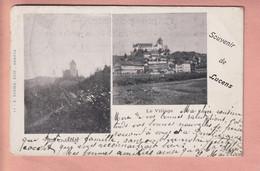 OUDE POSTKAART - ZWITSERLAND -    SOUVENIR DE LUCENS  1905 - VD Vaud