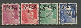 REUNION Lot Marianne De Gandon  N° 289-294-290-299 OBL - Used Stamps