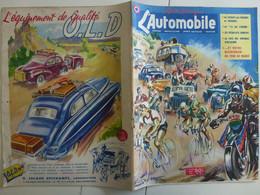 L'Automobile Août 1950 Tour De France Illustration Géo Ham Décapotables15 Six Citroën - Auto/Moto