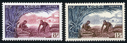 Togo 1954 Yvert 256 / 257 ** TB - Ongebruikt