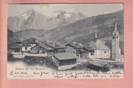 OUDE POSTKAART - ZWITSERLAND -    SEDRUN   1902 - GR Grisons