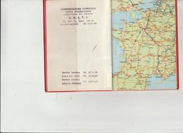 Atlas De Poche De S A L T I _Lomme-les-Lille 59  -32 Cartes Detaillées De France..voir Scan .suite - Lomme