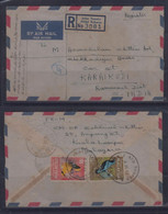 Malaysia 1965 Registered Cover To India - Malaysia (1964-...)