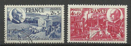 FRANCE 1944 Michel 620 - 621 O - Gebraucht