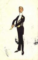 Illustrateur Monsieur Snob Et élégant RV - Men