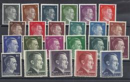 Deutsches Reich 781/802 ** - Ungebraucht
