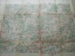 "GRAY Feuille XXIII-19 "" Tirage 1892 - 1/100.000 ( Lib. Hachette ) Voir Scans / Photos SVP ! - Europe"