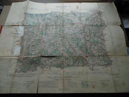 "BELFORT - Feuille XXVI-18 "" Tirage 1904 - 1/100.000 ( Lib. Hachette ) Voir Scans / Photos SVP ! - Europe"