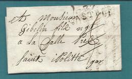Tarn - Castres Pour Saint Hipolite (Gard). LAC Ecrite En 1816 à Labruguière - 1801-1848: Precursors XIX