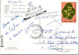 BULGARIE Affranchissement Sur Carte Postale, Cachet(s) NPAI Rebut Postal [REF/MA0936] - Errors, Freaks & Oddities (EFO)