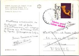 BULGARIE Affranchissement Sur Carte Postale, Cachet(s) NPAI Rebut Postal [REF/MA0946] - Errors, Freaks & Oddities (EFO)