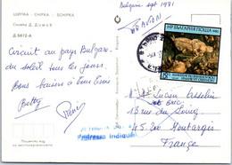 BULGARIE Affranchissement Sur Carte Postale, Cachet(s) NPAI Rebut Postal [REF/MA0953] - Errors, Freaks & Oddities (EFO)