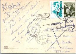 BULGARIE Affranchissement Sur Carte Postale, Cachet(s) NPAI Rebut Postal [REF/MA0965] - Errors, Freaks & Oddities (EFO)