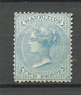 MAURITIUS 1863 Michel 28 * Queen Victoria - Mauritius (...-1967)