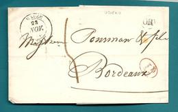 Deux Sèvres - Belle Collection Sur Mauzé. Différentes Taxes. Une Lettre D'origine Rurale D'USSEAU. - 1801-1848: Precursors XIX