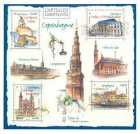 ENTIER POSTAL Capitales Europeennes COPENHAGUE . - Tarjetas Cartas