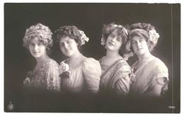 CPMCarte Postale  Belgique-Photographie Du Buste De Quatre Jeunes Femmes   VM37790 - Photographs
