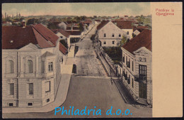 Pozdrav Iz Gjurgjevca, Street, Mailed 1903 - Croacia