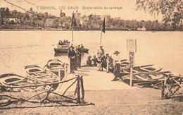 GENVAL LES EAUX - Embarcadère Du Canotage - Carte Animée Et Circulé En 1927 - Rixensart