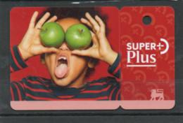 Luxembourg Carte De Fidélité Delhize Super+Plus - Gift Cards