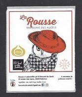 Etiquette De Bière Rousse -  Brasserie Des Aucels  à  Bédarieux  (34) - Beer