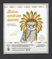 Etiquette De Bière Ambrée Epicée  -  Brasserie Des Aucels  à  Bédarieux  (34) - Beer