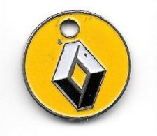 Jeton De Caddie  Ville, Automobiles  RENAULT  Verso  Garage  ST  SEBASTIEN  à  NANCY  ( 54 ) - Einkaufswagen-Chips (EKW)