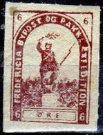 DPL 1 - DENMARK: FREDERICIA Lokalpost Local City Post (+) LH - Qualità A Vostro Giudizio. - Local Post Stamps