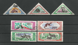 Mongolia 1959 Fauna Y.T. 150/156 (0) - Mongolia