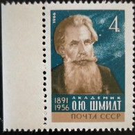 RUSSIA  MNH (**)1966 The 75th Anniversary Of O.Yu.Shmidt (1891-1956)    Mi 3291 - Unused Stamps