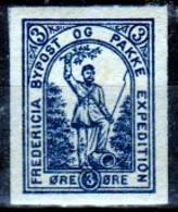 DPL 8 - DENMARK: FREDERICIA Lokalpost Local City Post (+) LH - Qualità A Vostro Giudizio. - Local Post Stamps