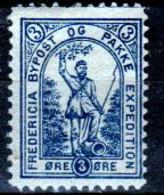 DPL 9 - DENMARK: FREDERICIA Lokalpost Local City Post (+) LH - Qualità A Vostro Giudizio. - Local Post Stamps