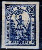 DPL 11 - DENMARK: FREDERICIA Lokalpost Local City Post (+) LH - Qualità A Vostro Giudizio. - Local Post Stamps