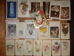 (34)   Lot De 20 Images Pieuses - Religione & Esoterismo