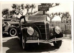 EXPO VOITURES DE GRAND LUXE . GARAGE CAISSON .8 RUE RAPHAEL . CANNES . LES  ALLEES - Cars
