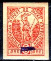 DPL 14 - DENMARK: FREDERICIA Lokalpost Local City Post (+) LH - Qualità A Vostro Giudizio. - Local Post Stamps