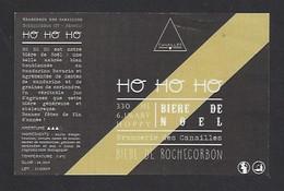 Etiquette De Bière ABV Hoopy  -  Ho Ho Ho   -  Brasserie Des Canailles  à  Rochecorbon    (37) - Beer