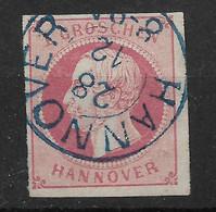 Hannover, Schöner  Wert Der Ausgabe Von 1859 - Hanovre
