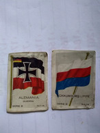 Chile.hucke Cromos Germany State Flags(12)f/vf5 With Diff Back Texto..war.lubeck.sachsen.sajonia.bremen.prusia.see Ilus. - Altri