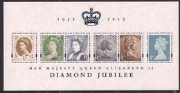GB 2012 QE2 Diamond Jubilee Umm Mini Sheet SG 3272 ( R807 ) - Blocks & Kleinbögen