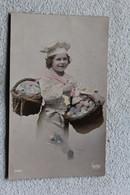 C508, Enfant Avec Ses Deux Paniers, Fantaisie - Portraits