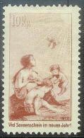 Schweiz Suisse Pro Juventute 1912: Vorläufer Tuberkulose-Hilfe Zumstein-No. I * Mit Falz MH ( Zu CHF 12.00 - 50%) - Enfermedades