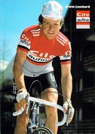 CYCLISME: CYCLISTE : ERWIN LIENHARD - Cycling