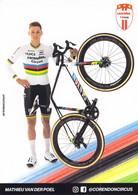 CYCLISME: CYCLISTE : MATHIEU VAN DER POEL - Cycling