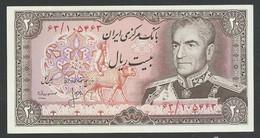 IRAN. 20 RIALS. ND(1974/79). SHAH PALAVI TYPE VIII. SIGN.16. Pick 100a. UNC / NEUF - Iran