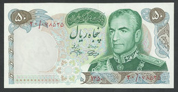IRAN. 50 RIALS. ND(1971). SHAH PALAVI TYPE VIII. SIGN.13. Pick 97b. UNC / NEUF - Iran